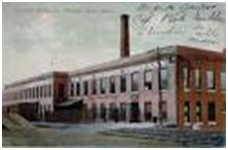 Illustration of the old Ames Manufacturing Company Building